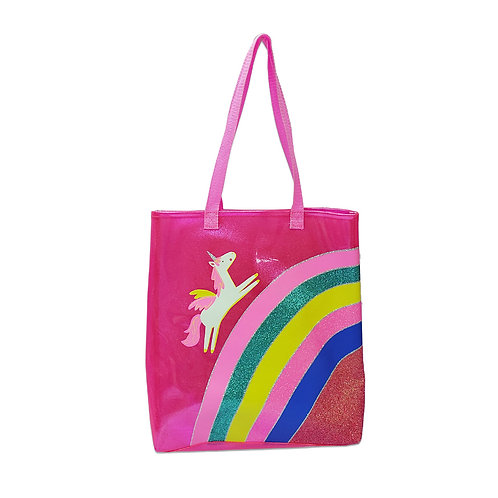 Unicorn rainbow jelly shopper
