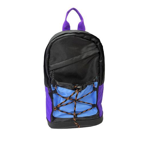 Shiny ripstop sling bag
