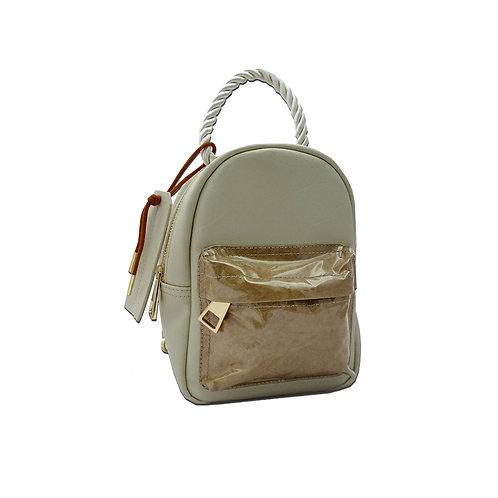 Paper mini backpack