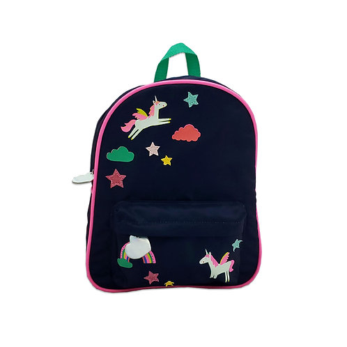 Badged backpack