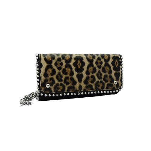 Ball edge chain wallet
