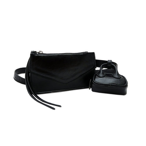 Trapezoid belt bag