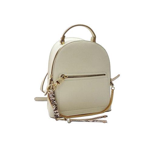 Charm detail backpack