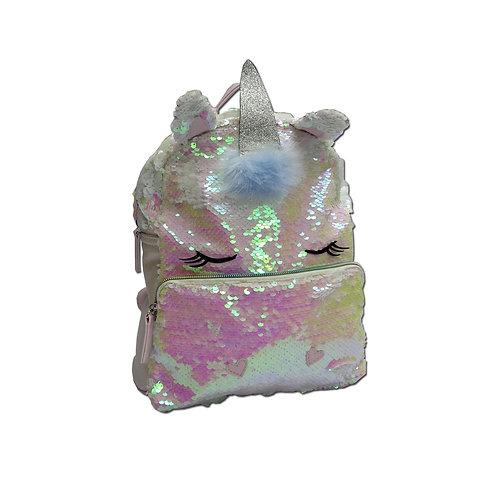 Iridescent unicorn backpack