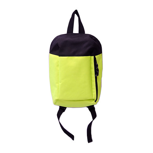 Boys hiking backpack