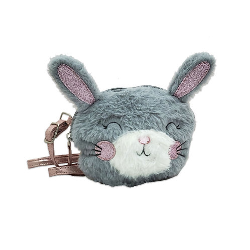 Bunny fur Xbody bag