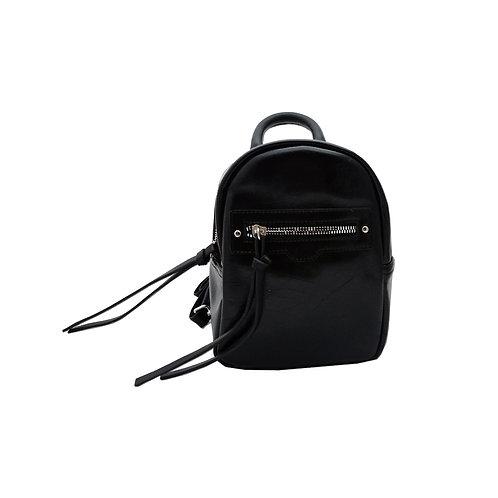 Trapezoid mini backpack