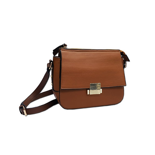 tan saddle bag