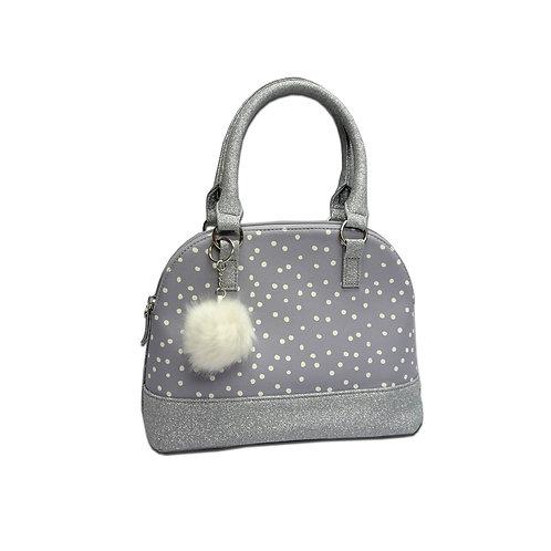 Kettle bag with polka dot