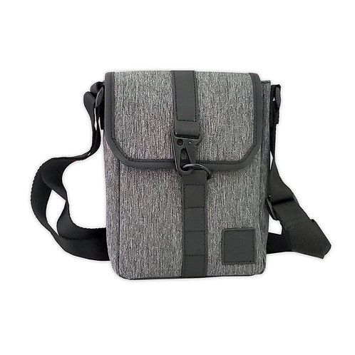 Texture satchel Xbody bag
