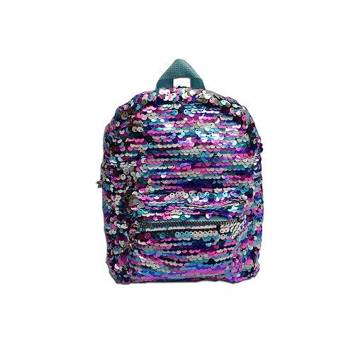 Rainbow sequin backpack