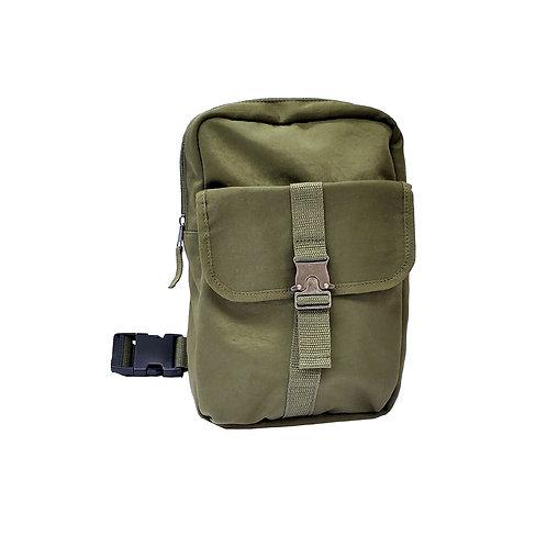 Metal buckle sling bag