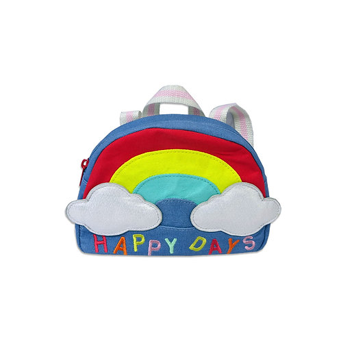 Toddler rainbow backpack