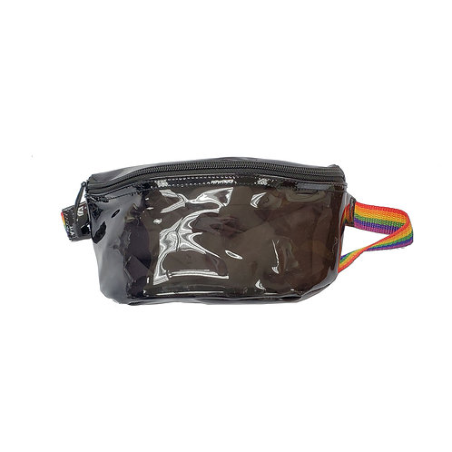 Transparent PVC bum bag