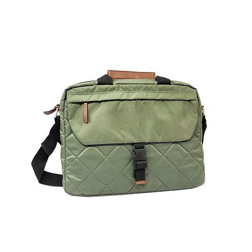 Quilted portfolio bag