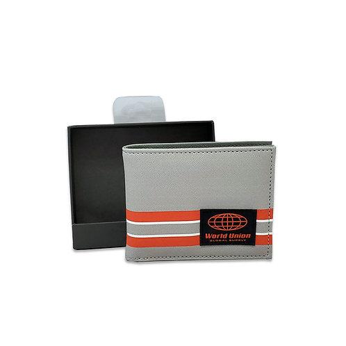 Xhatch print stripe wallet