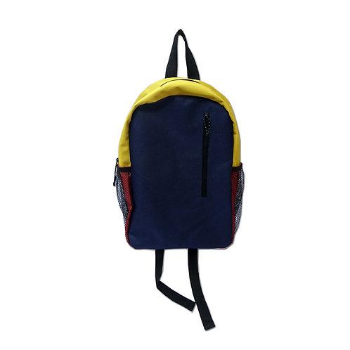 Boys hiking backpack