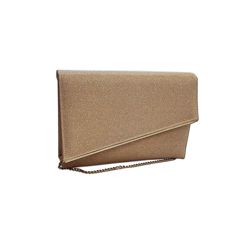 Metal bag clutch bag