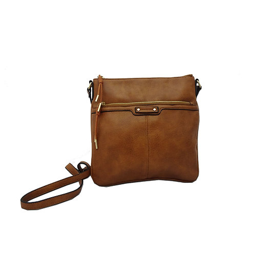 Rope charm ladies messenger bag