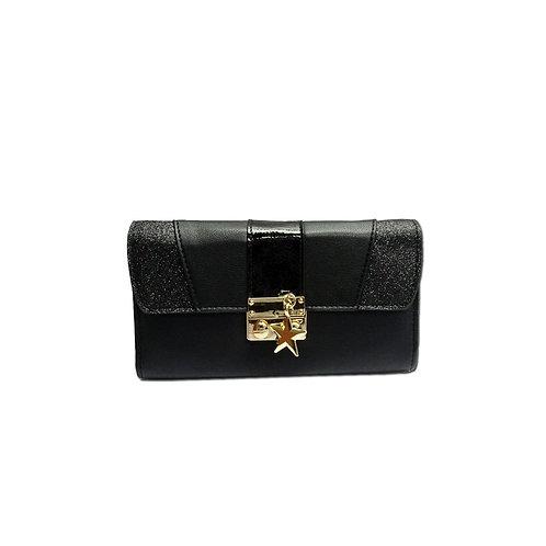 Mix fabric purse