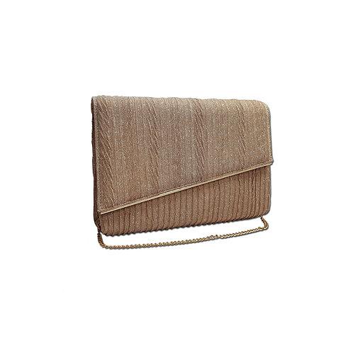 Metal bag clutch bag