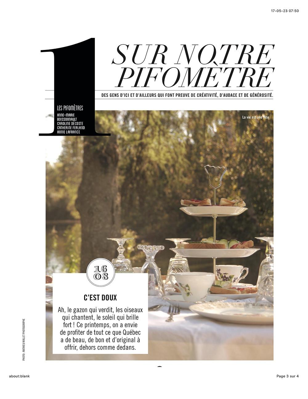 Magazine 16.08, printemps 2017, p. 13