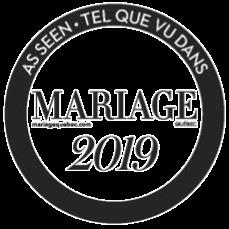 Tel que vu sur Mariage Québec