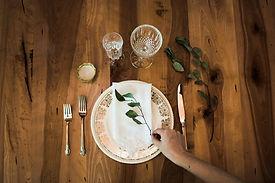Forfait de base pour souper ou mariage