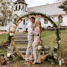 Décor de cérémonie Jardin romantique