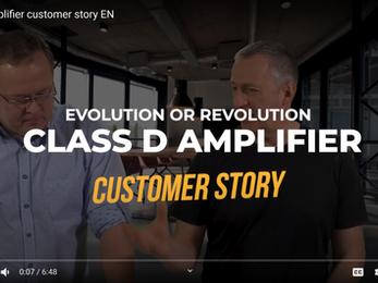 Class D amplifier customer story