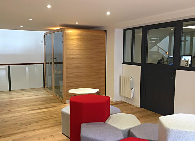 cabine acoustique espace informel