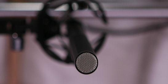 Šauras virziendarbības mikrofons