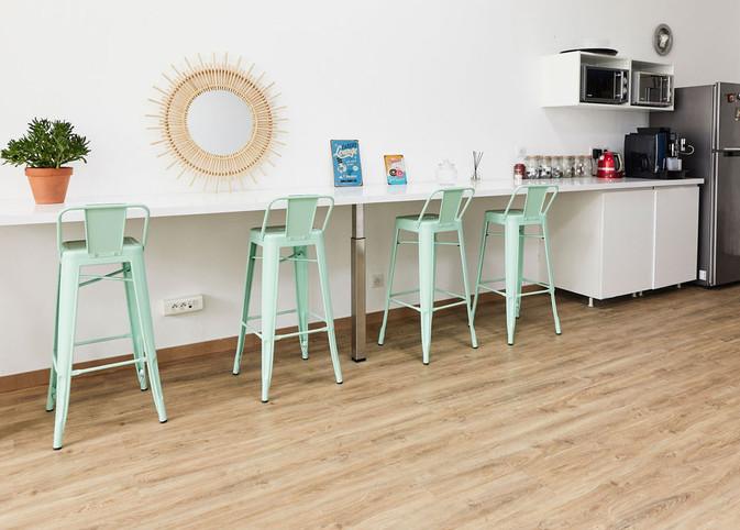 cuisine espace détente