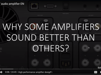 Why some amplifiers sound better than others?