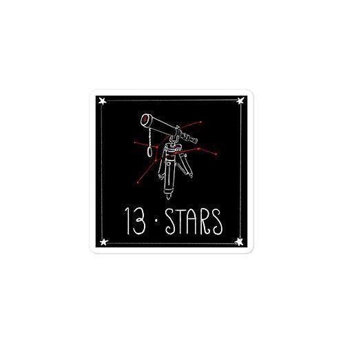 Episode 13 - Stars - 3x3 Sticker