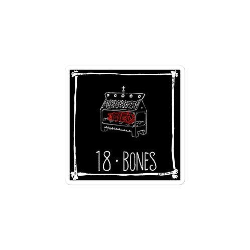 Episode 18 -  Bones - 3x3 Sticker