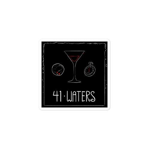 Episode 41 - Waters - 3x3 Sticker