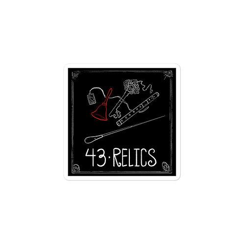 Episode 43 - Relics - 3x3 Sticker