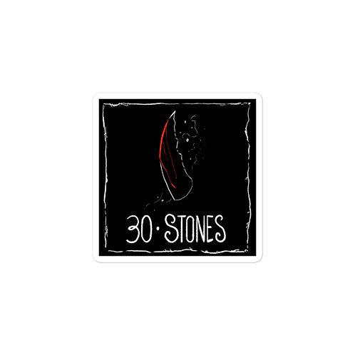 Episode 30 -  Stones - 3x3 Sticker