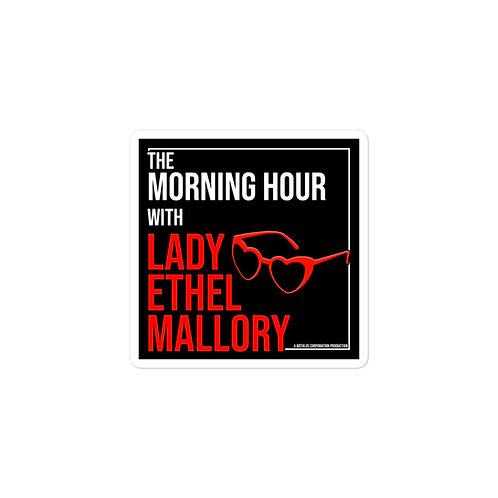 Episode 37 - The Morning Hour - 3x3 Sticker