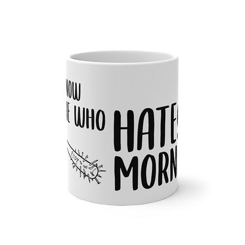 'Hates Mornings' Color Changing Mug