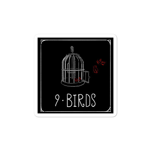 Episode 9 - Birds 3x3 Sticker