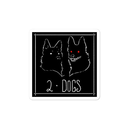 Episode 2 - Dogs 3x3 Sticker