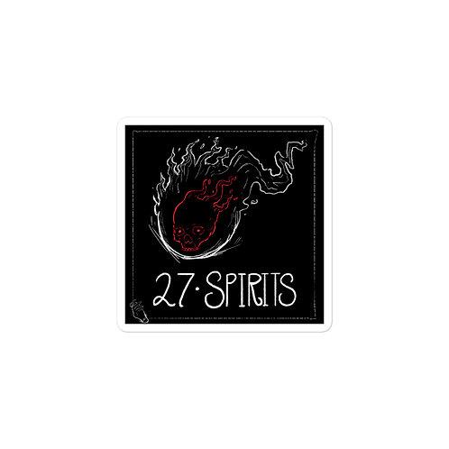 Episode 27 -  Spirits - 3x3 Sticker