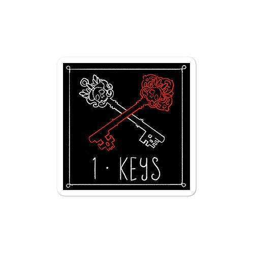 Episode 1 - Keys 3x3 Sticker