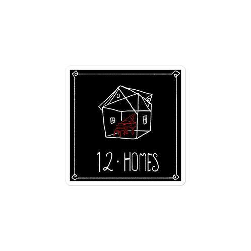 Episode 12 - Homes - 3x3 Sticker