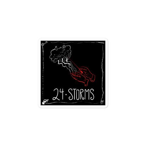 Episode 24 -  Storms - 3x3 Sticker