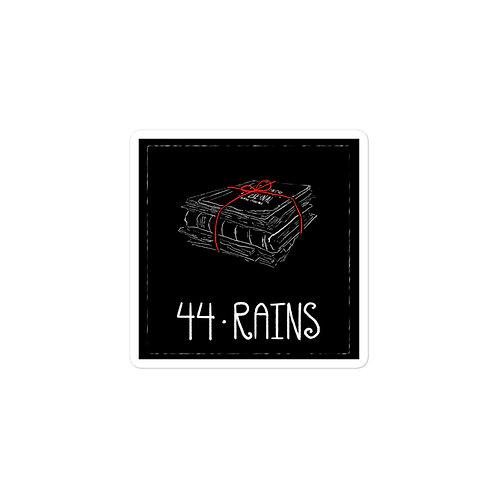 Episode 44 - Rains - 3x3 Sticker