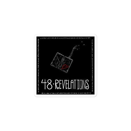 Episode 48 - Revelations - 3x3 Sticker