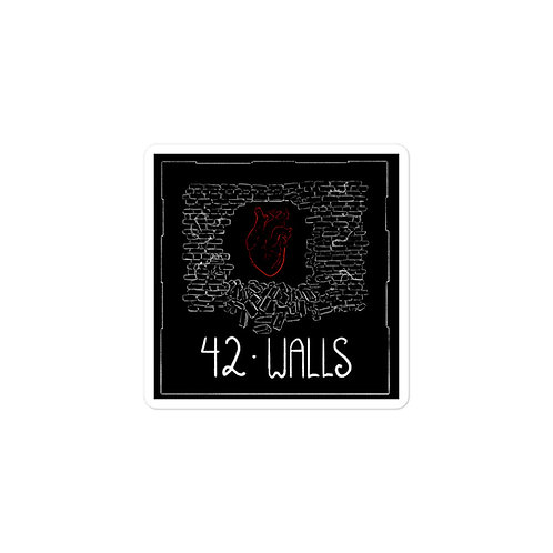 Episode 42 - Walls - 3x3 Sticker